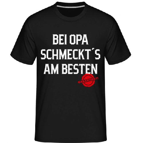 Bei Opa Schmeckts Am Besten - Shirtinator Männer T-Shirt