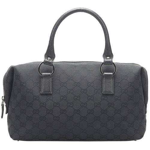 Gucci Leinwand Boston Tasche