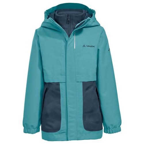 Kids Campfire 3in1 Jacket Girls, grün, Gr. 122/128