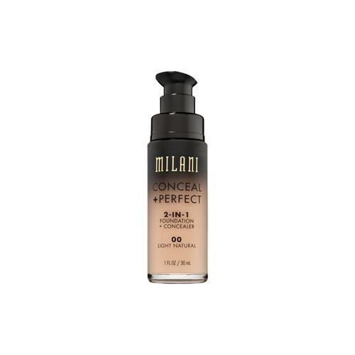 Milani Teint Foundation Conceal & Perfect 2-in-1 Foundation & Concealer Nr.09 Tan 30 ml