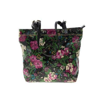 Unbranded - Tote Bag: Black Floral Bags