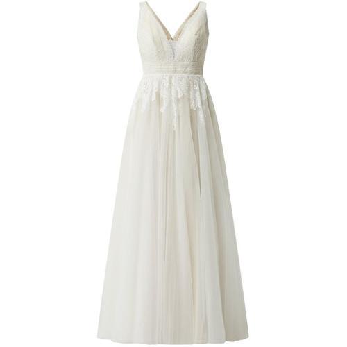 Luxuar Brautkleid mit Stola