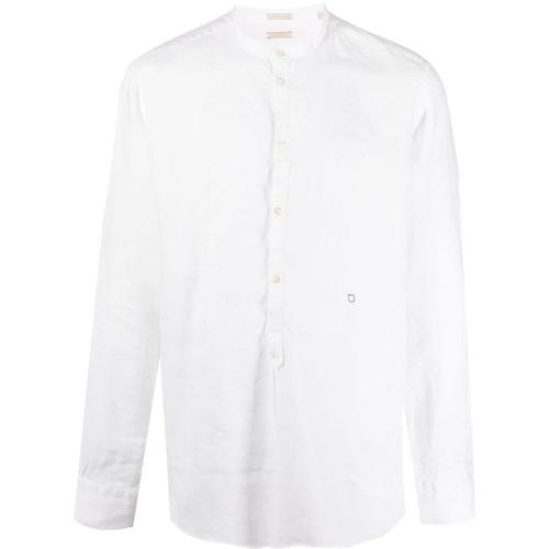Massimo Alba Hemd ohne Kragen