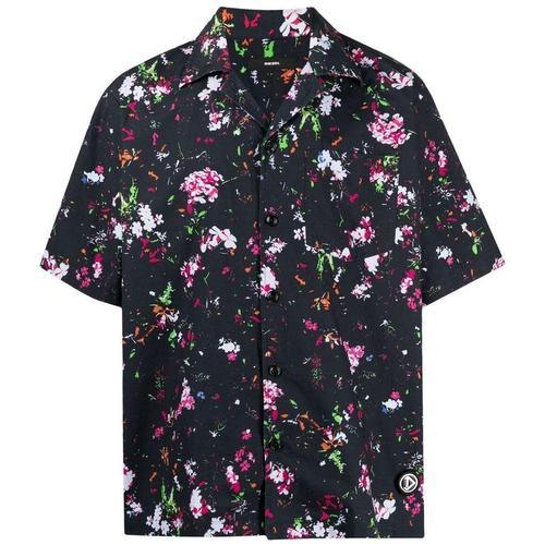 DIESEL Hemd mit Blumen-Print