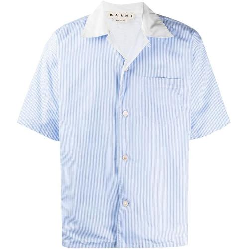 Marni Hemd mit Nadelstreifen