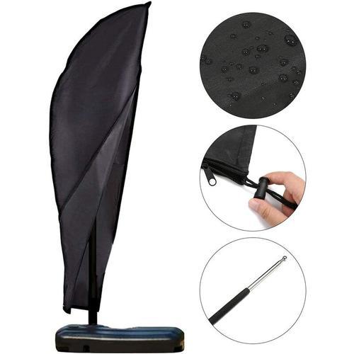 Sonnenschirm Abdeckung Schutzhülle für Sonnenschirm 2 bis 4 M Große Abdeckhauben für Sonnenschirm