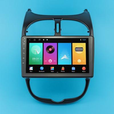 Autoradio Android, Navigation GPS, lecteur Audio multimédia, stéréo, écran 9 , 2 Din, unité