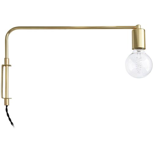 Goldene Wandlampe Gold