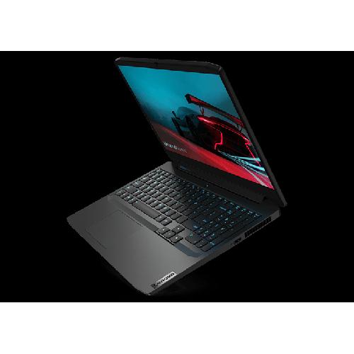 Lenovo IdeaPad Gaming 3 15 AMD AMD® Ryzen? 5 4600H-Prozessor 3,0 GHz, bis zu 4,0 GHz, 6 Kerne, 12 Threads, 3 MB Cache L2 , 8 MB Cache L3, DOS, 1 TB 5400 HDD + 256 GB PCIe-SSD