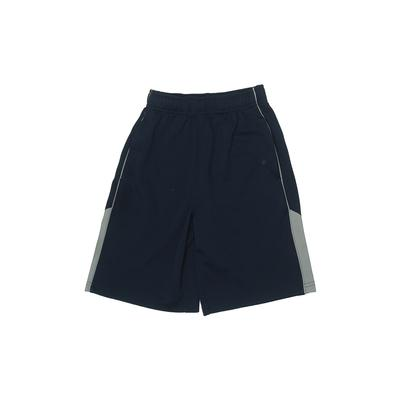 MTA Sport Athletic Shorts: Blue Solid Sporting & Activewear - Size 8