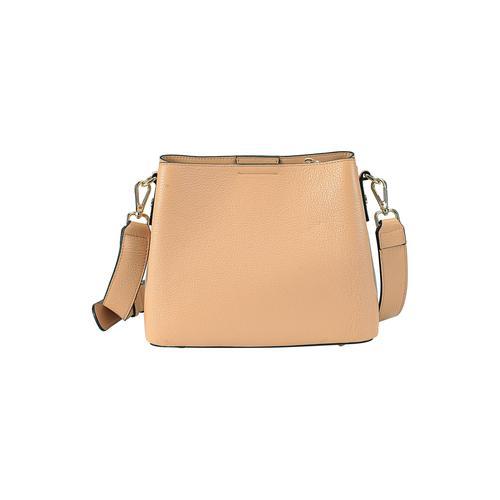 ekonika Schultertasche, mit abnehmbarem Schultergurt braun Damen Handtaschen Taschen Schultertasche