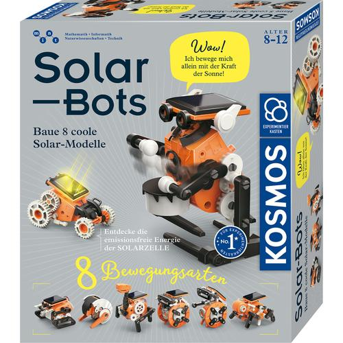 Kosmos Modellbausatz Solar Bots orange Kinder Modellbausätze Bauen Konstruieren