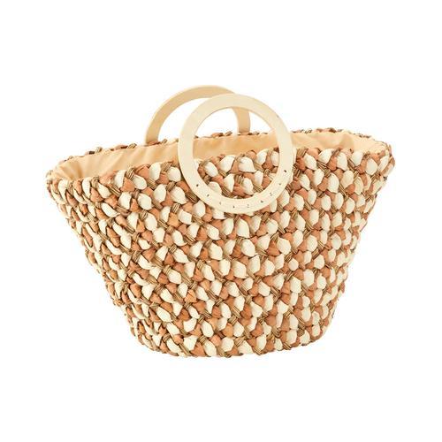 heine Korbtasche beige Damen Handtaschen Taschen