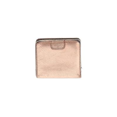 Fossil - Fossil Wallet: Gold Solid Bags
