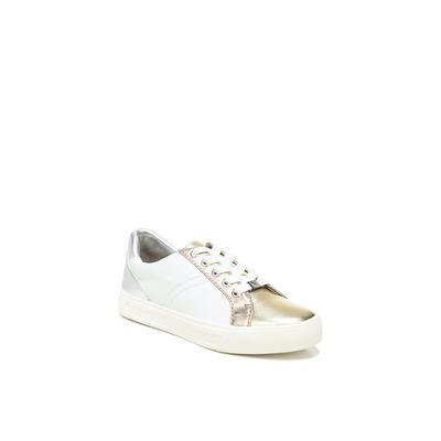 Women's Astara Sneakers by Naturalizer in White Metallic (Size 8 1/2 M)