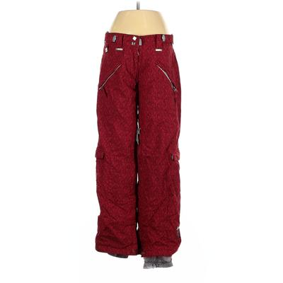 Ride Snowboards Snow Pants - Mid/Reg Rise: Red Activewear - Size 5