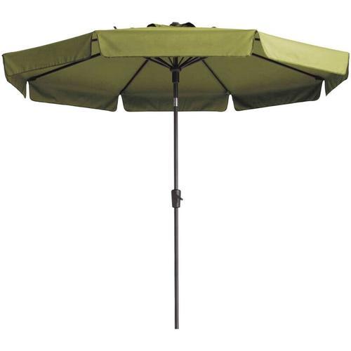 Madison Sonnenschirm Flores 300cm Rund Salbeigrün