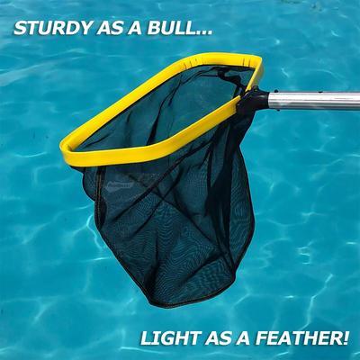 Nettoyeur de piscine, accessoires, outils, filet à feuilles de piscine, filet d'écumage de piscine,
