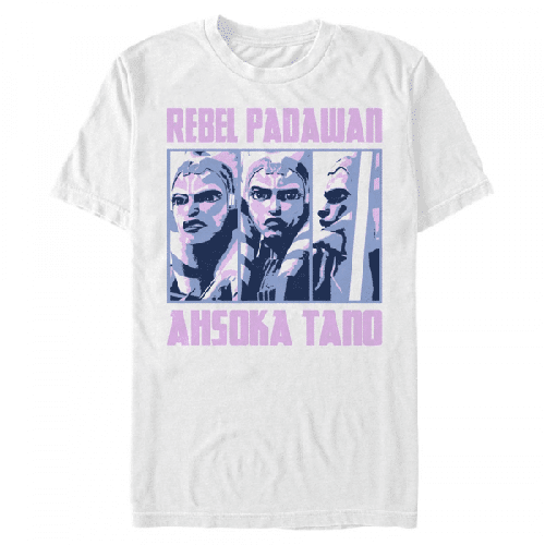 Ahsoka Rebel BoxUp - Star Wars Klonenkriege - Männer T-Shirt
