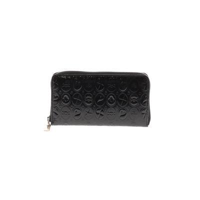 Exte - Exte Wallet: Black Solid Bags