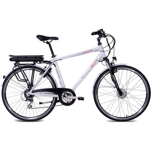 Chrisson E-Bike E-GENT, 8 Gang, Shimano, RD-M360-SGS, Frontmotor 250 W weiß E-Bikes Fahrräder Zubehör