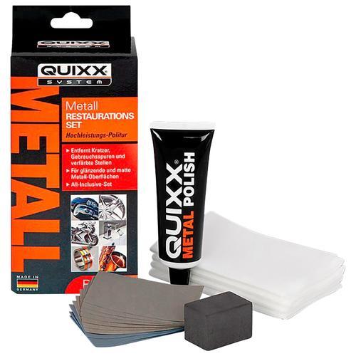 QUIXX Politur, (Set, 14 St.), 50 ml für Metall orange Politur Autopflege Autozubehör Reifen