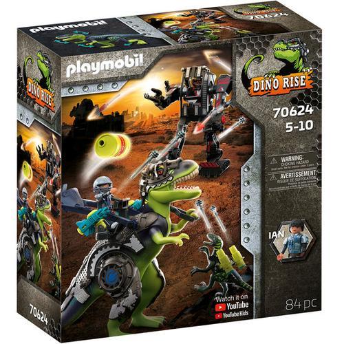 PLAYMOBIL® DINO RISE 70624 T-Rex: Gefecht der Giganten, bunt