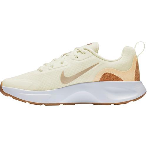 Nike Wearallday Sneaker Damen in sail-pale vanilla-praline-white, Größe 37 1/2
