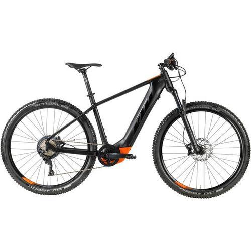 KTM Spezialfahrrad MAC Alp 29.12, Größe 38 in BLACK MATT / BLACK / ORANGE