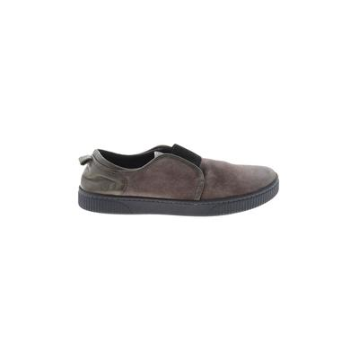 Born Handcrafted Footwear - Born Handcrafted Footwear Flats: Gray Solid Shoes - Size 9 1/2