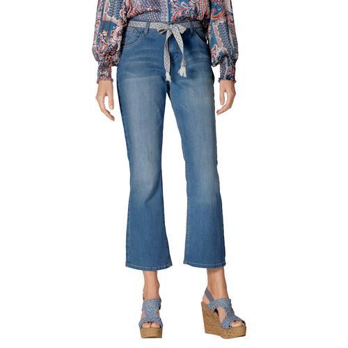 Jeans Cream Blau