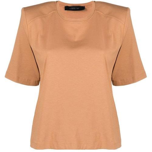 FEDERICA TOSI T-Shirt mit strukturierten Schultern