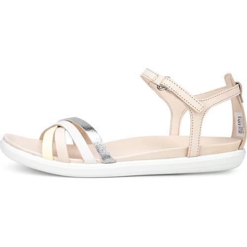 Ecco, Ecco Simpil Sandal Flare/sambal/droid/sambal in beige, Sandalen für Damen Gr. 37