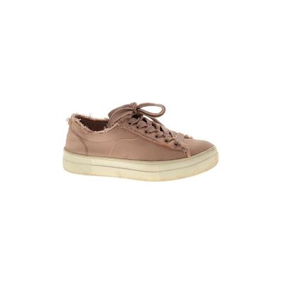 Steve Madden Sneakers: Pink Solid Shoes - Size 6