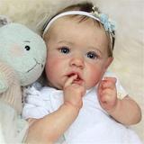 Saskia – poupée bébé fille réali...