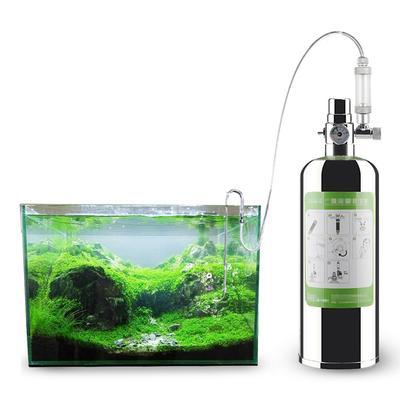 Kit de générateur de CO2 pour Aquarium, cylindre en acier inoxydable, système de générateur de