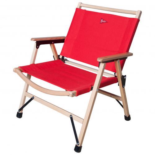 Spatz - Woodstar - Campingstuhl rot/beige
