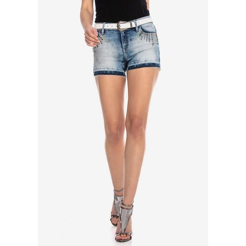 Cipo & Baxx Shorts im ausgefallenen Look