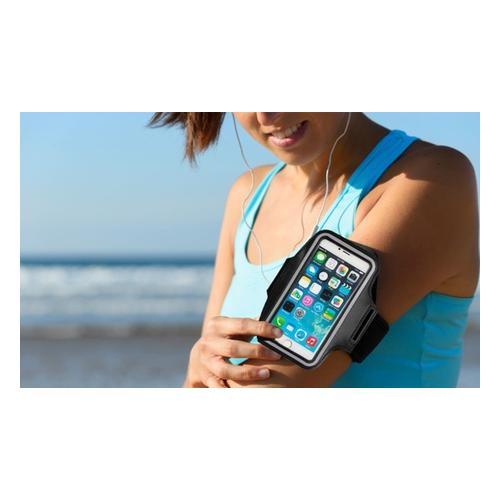 Sportarmband für Apple iPhone: 4 4s 5 5s SE1 SE2 6 6s 7 8/ Grau/ 2