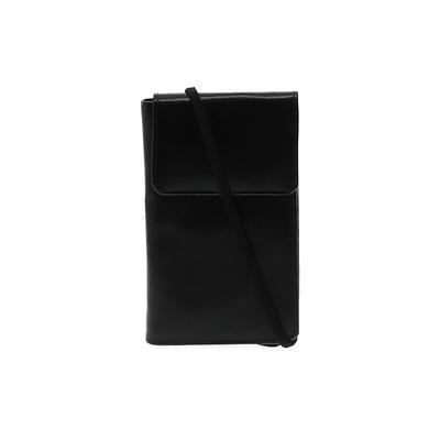 Assorted Brands - Assorted Brands Crossbody Bag: Black Solid Bags