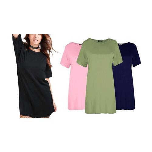 Mini-Kleid: Königsblau / M-L