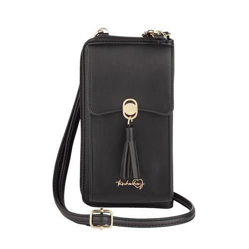 Handytasche Taschenherz schwarz