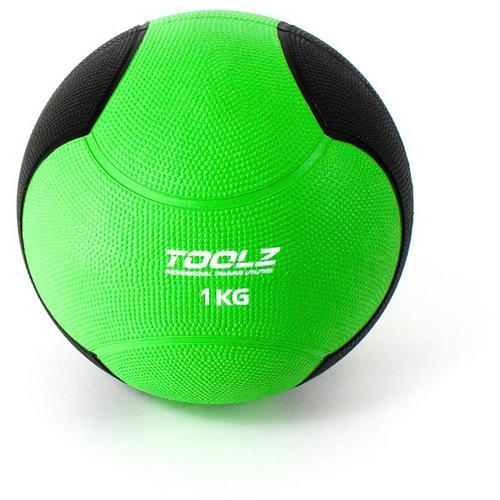 TOOLZ Medicine Ball Medizinball in grün, Größe 1