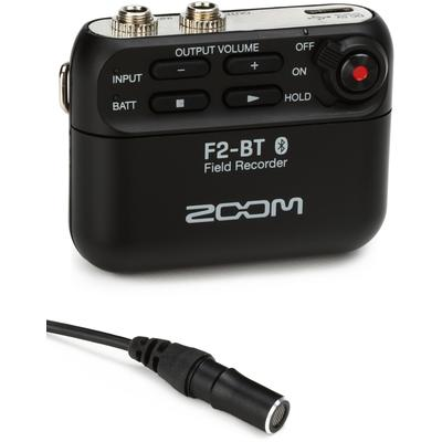 Zoom F2 Field Recorder with Lava...