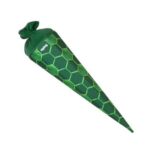 Schultüte ElfmetBär, 75 cm grün