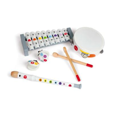Janod - Musical Instruments Set Confetti