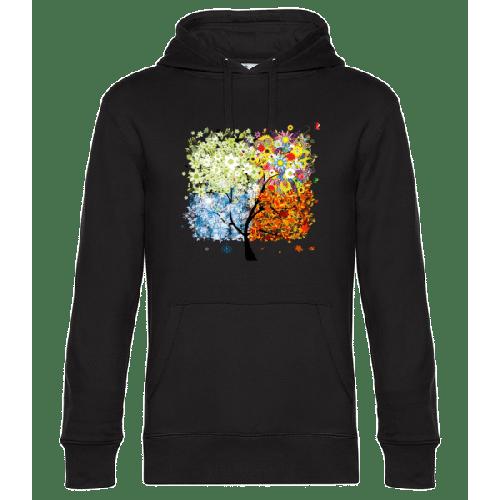 Vier Jahreszeiten Baum - Unisex Hoodie