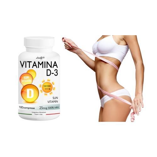 Lineadiet Vitamin D3 Tabletten: 360 Tabletten (21 6 g)