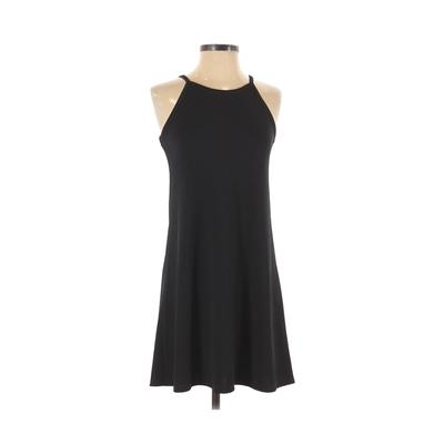 Wildflowers Casual Dress - A-Line: Black Solid Dresses - Used - Size X-Small
