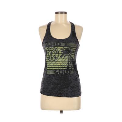 Gold's Gym Gold's Gear Active Tank Top: Black Activewear - Size Medium